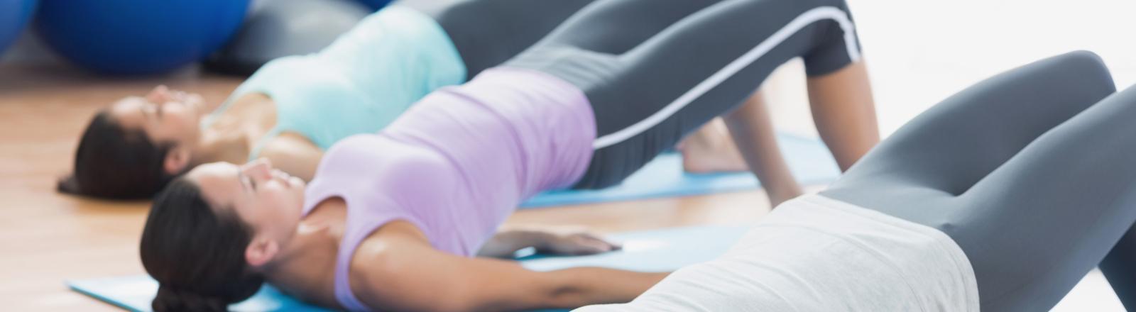 clases de ejercicio grupal