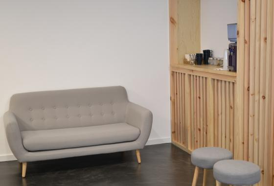 Hall de FisioClinics Bilbao - Sabino Arana