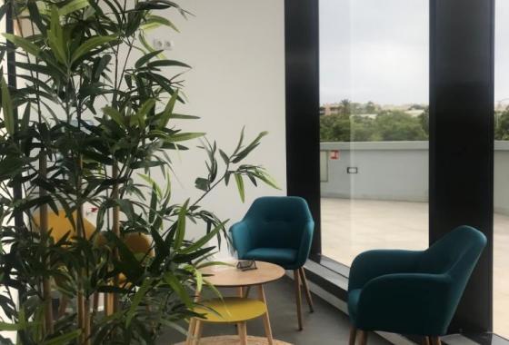 sala de espera fisioclinics Palma